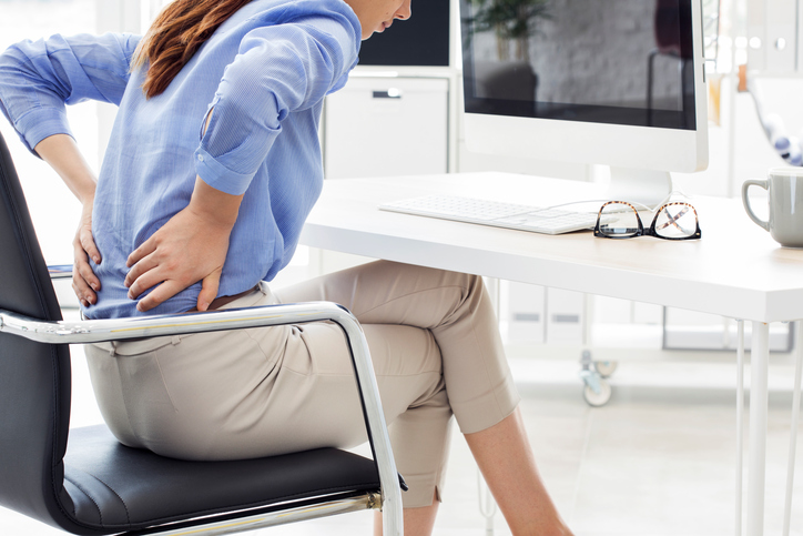 Clients could need relief from back pain suffered at work or at home