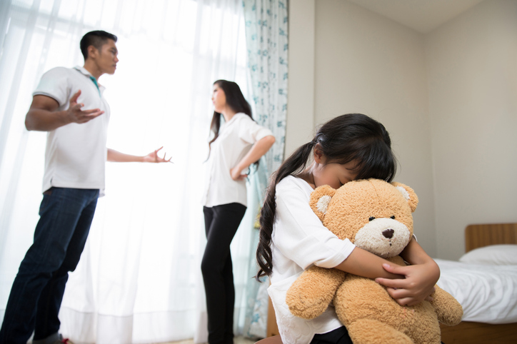Aggression in children can be a sign of stressors at home