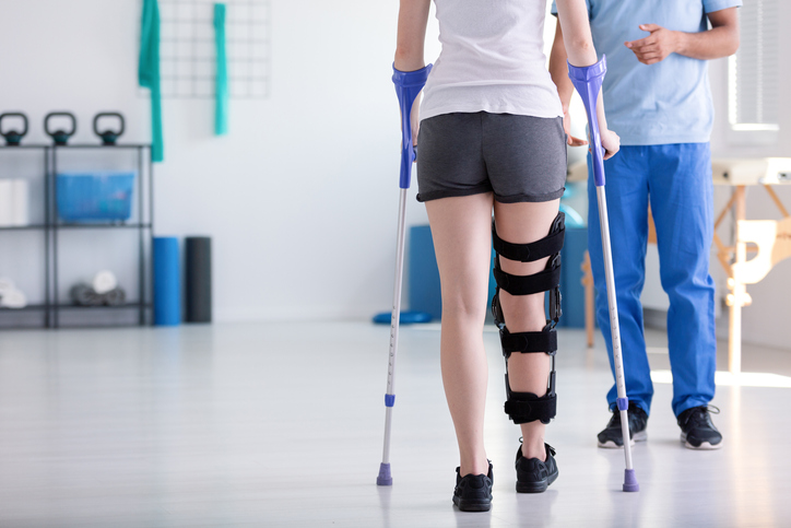 A physiotherapy assistant isn't limited to only working with injuries, although this may be a common part of the job