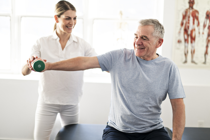 Students at KLC College can use their training to tailor exercise techniques to each client
