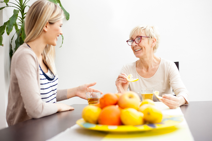 As a PSW, you can help senior clients stay hydrated by providing them with fruits and vegetables