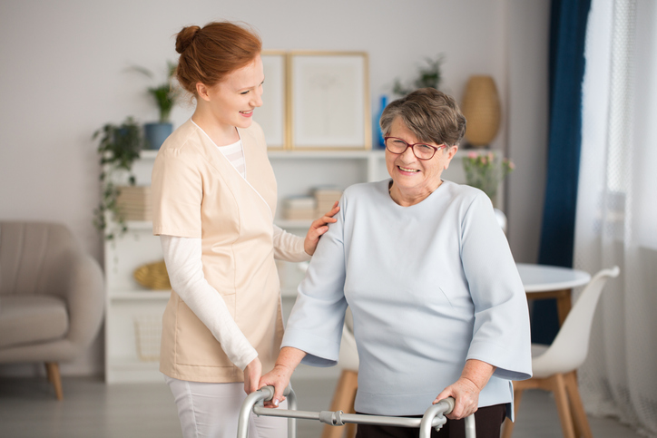 Restorative care helps patients rehabilitate at a slower, more comfortable pace